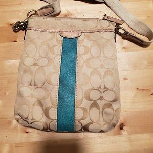 Coach cross body purse